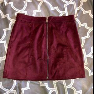 Zip up skirt!